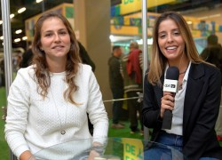 Alê Xavier e Laura Zago no Estúdio CBF TV