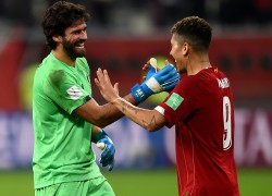 Alisson e Firmino foram fundamentais na classificação do Liverpool à final do Mundial