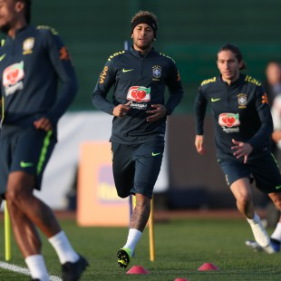 Treino no CT do Arsenal