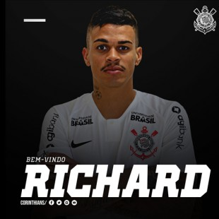 Richard é o novo reforço do Corinthians