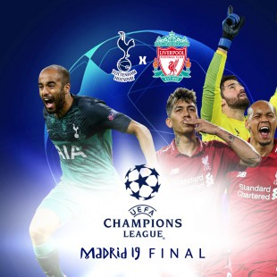 Tottenham x Liverpool - final da Champions League 2018/19