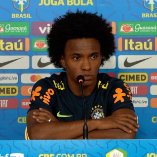 Coletiva com Willian