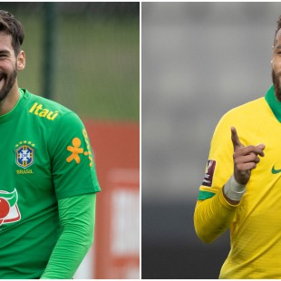 Alisson e Neymar foram indicados ao The Best FIFA Awards 2020