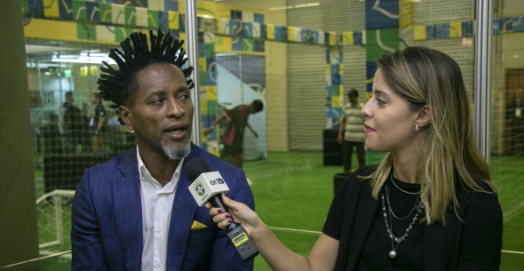 Zé Roberto no Estúdio CBF TV