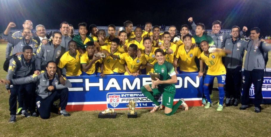 Brasil conquista Torneio Nike Friendlies