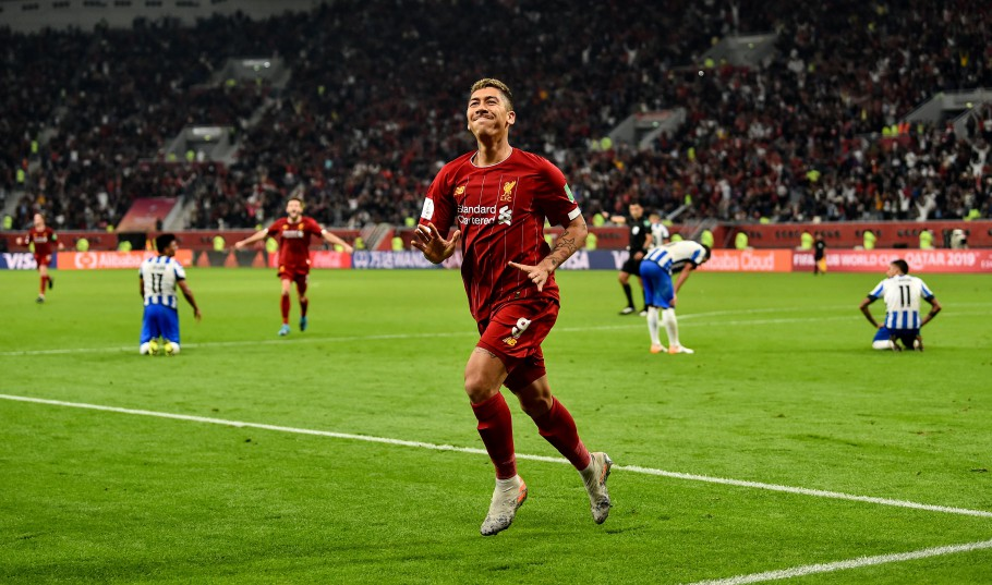 Firmino entrou aos 39 do segundo tempo para marcar o gol da classificação do Liverpool à final do Mundial de Clubes 2019