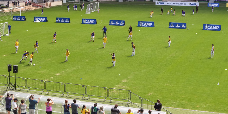 CBF School no Allianz Parque
