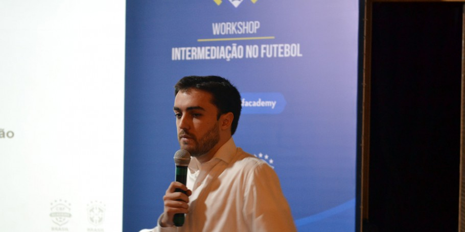 Felipe Pestana, integrante do departamento de Registros e Transferências da CBF.