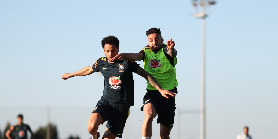 Treino no CT do Porto