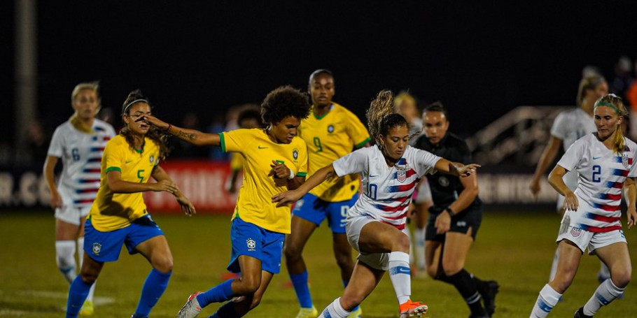 Nike Internacional Friendlies 2019: Brasil x Estados Unidos Azul