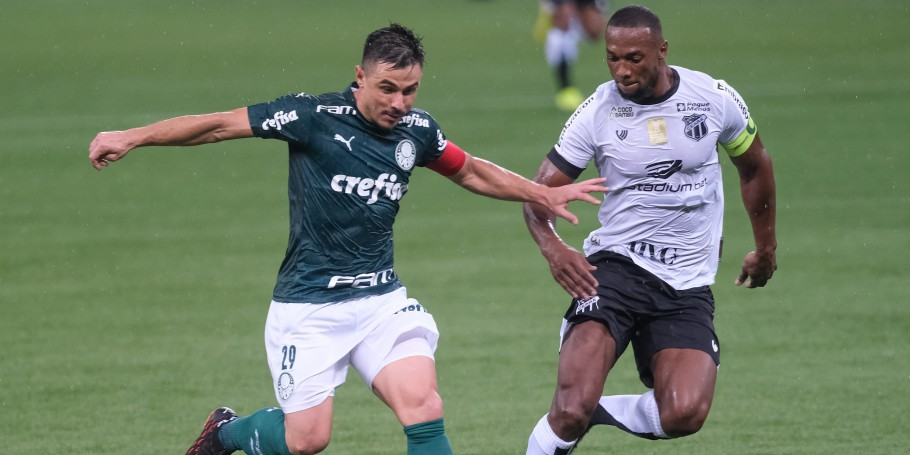 Palmeiras e Ceará abriram as disputas das quartas de final da Copa do Brasil no Allianz Parque